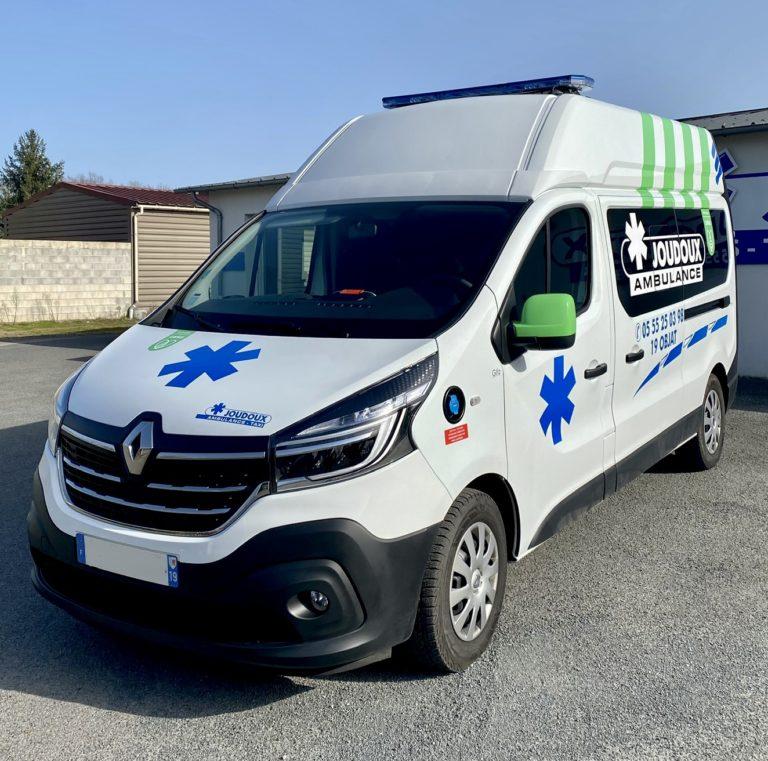 Ambulance Trafic L2H2
